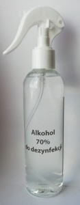 Alkohol 70% do dezynfekcji 250ml