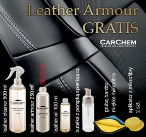 CarChem Detailing Leather BOX PROMO