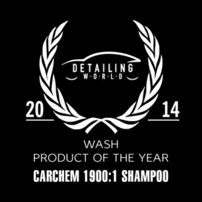 Szampon samochodowy CarChem 1900:1 Produktem Roku 2014 wg Detailing World!